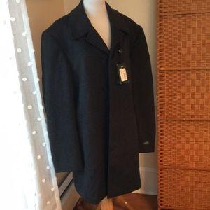 NWT Men's Ralph Lauren Wool Overcoat 44L